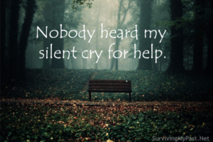 my silent cry for help from abuse