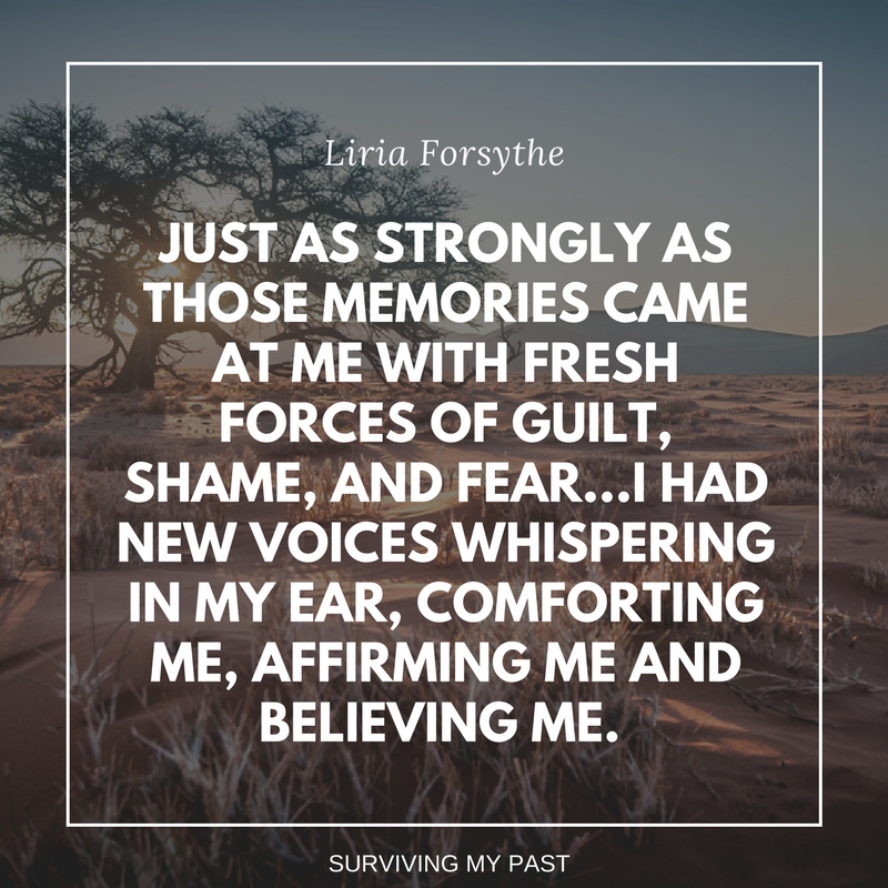 liria forsythe - fighting back against my abusers - surviving my past